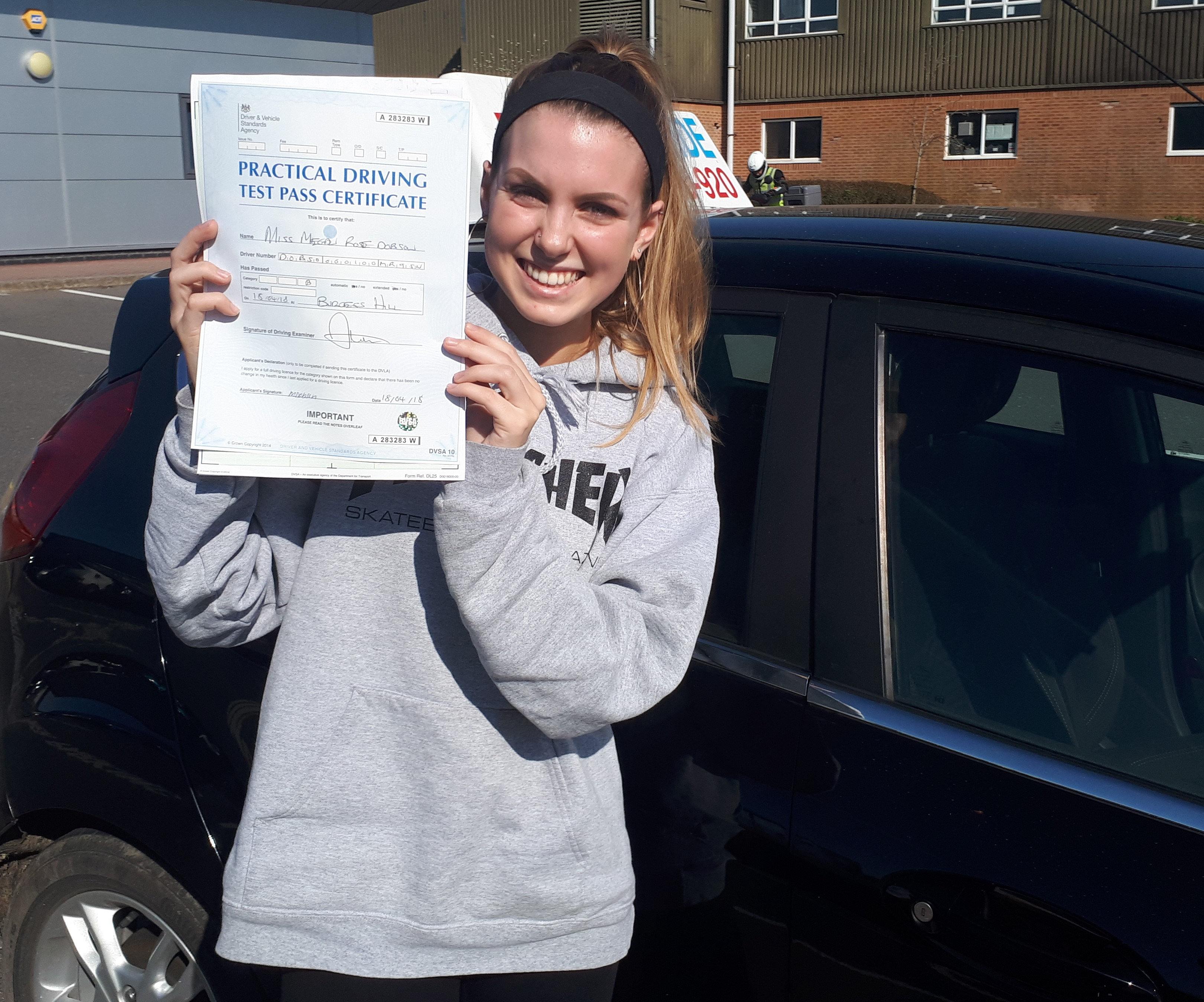 Megan passed
